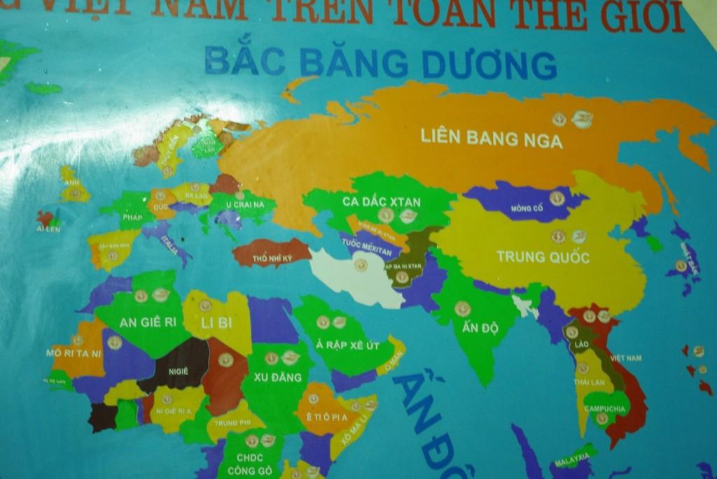Le monde vu de Cat Ba (Vietnam)